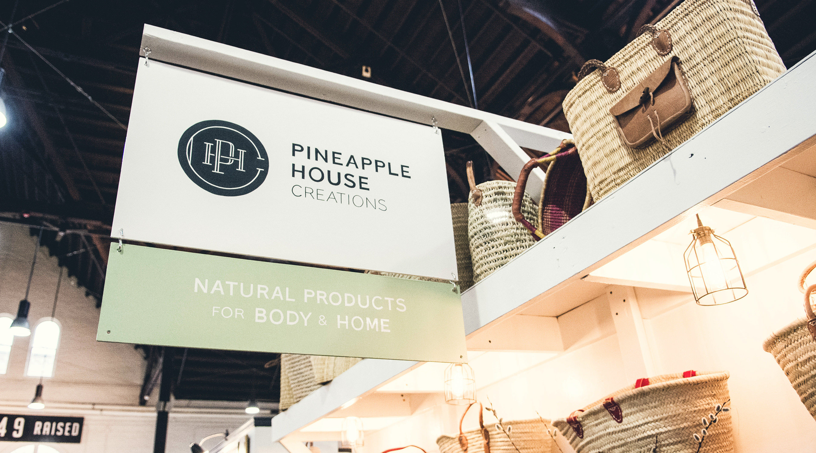 Pineapple House Creations branding by The Curio Collective